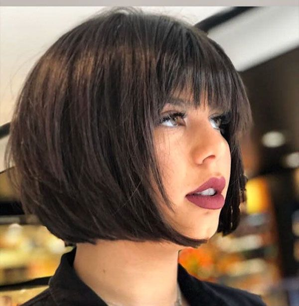 78 New Best Short Haircuts 2019 In 2020 Short Haircuts With Bangs Best Short Haircuts Short Bob Hairstyles