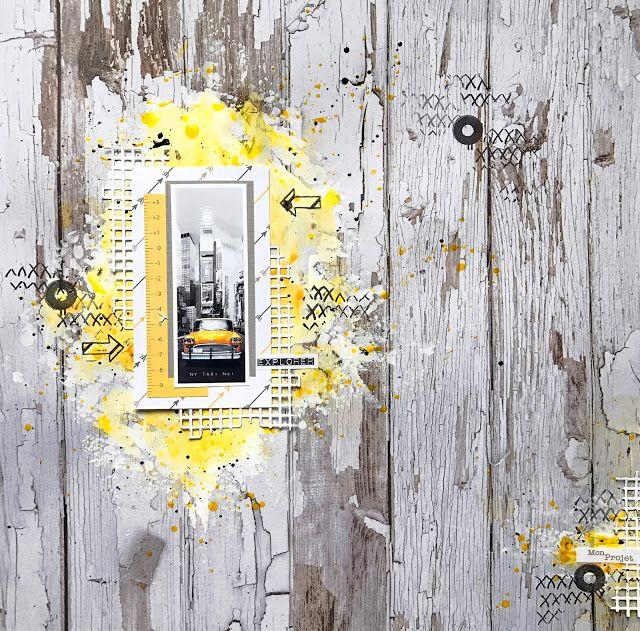 Scrap Plaisir : le scrap de shannon91 #scrapbooking #layout #shannon91 #aladine #graffitigirl