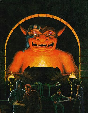 1st Edition AD&D DM Screen: The best we've ever seen in