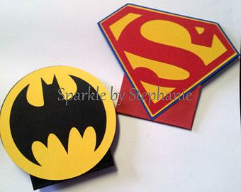 SALE Superman Batman vs Superman photo booth by PartyPhotoProps