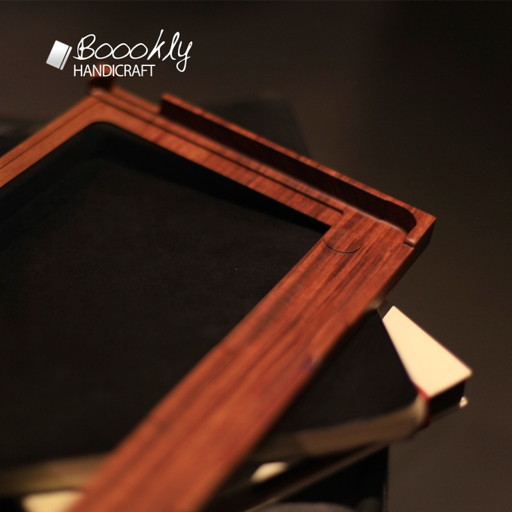 bubinga wood frame for macbook air case
