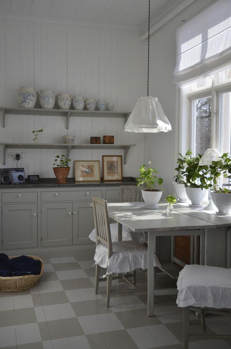 Kök i gammalt hus
