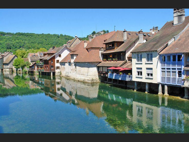 Ornans, dans le département du Doubs