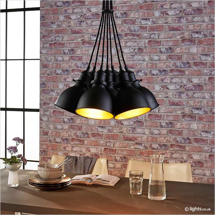 Lira   7 Bulb Pendant Light In Bundled Shape