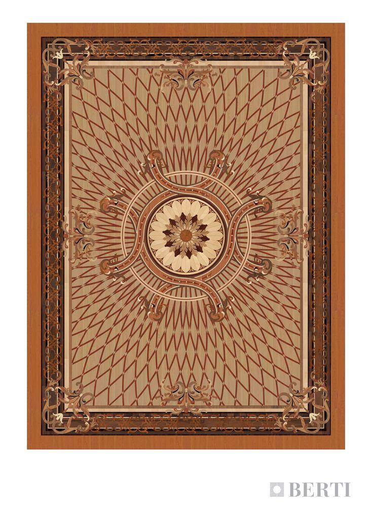 Berti-Wooden-Floors render: living room western #parquet #parquetlovers