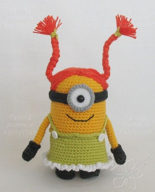 Amigurumi Little Monsters : 17 Best images about DIY - minions on Pinterest Free ...