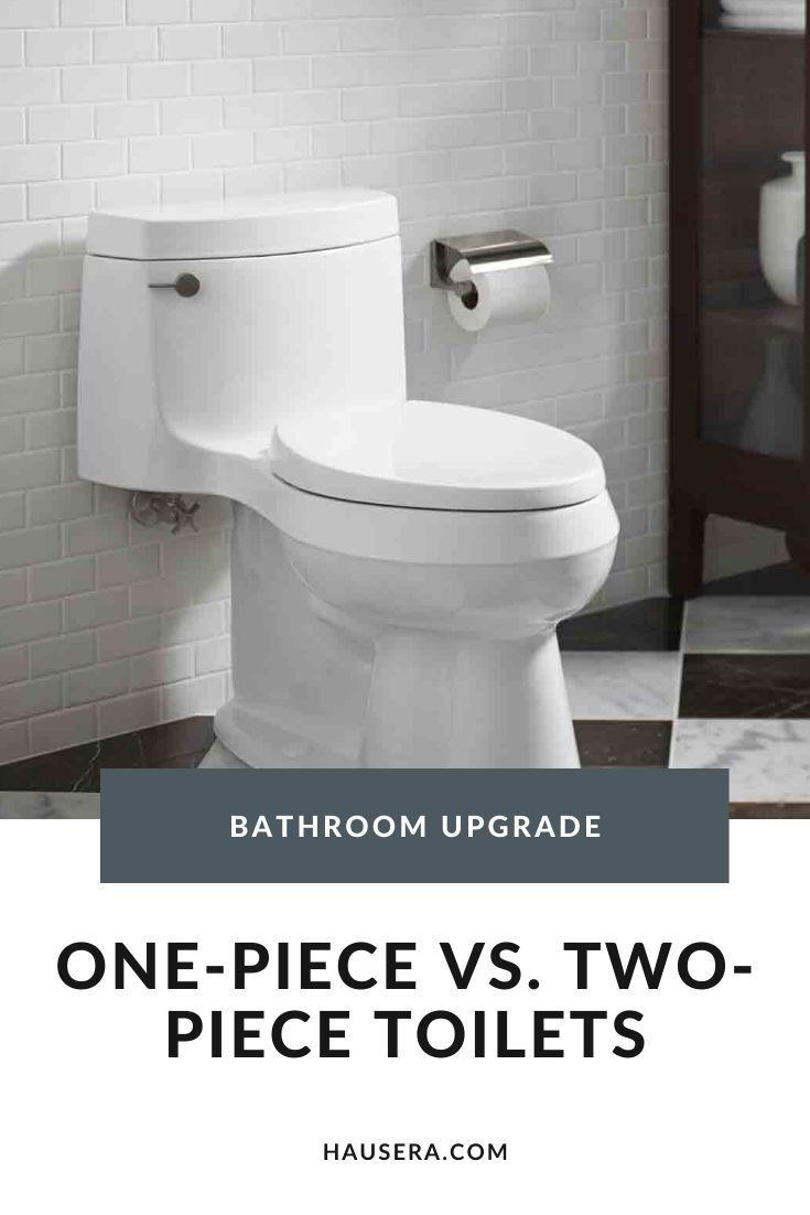 One Piece Vs Two Piece Toilet Bowl
