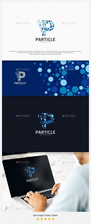 Particle Media Letter P Logo 138