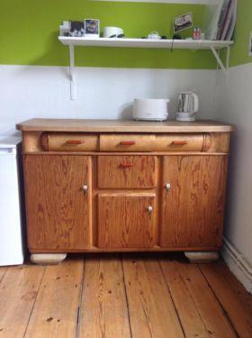 k chenbuffet k chenschrank buffet 30er 40er vintage alt. Black Bedroom Furniture Sets. Home Design Ideas