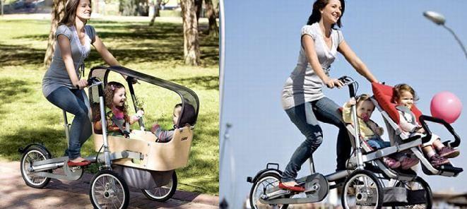 Una bici para la familia. http://www.veoverde.com/