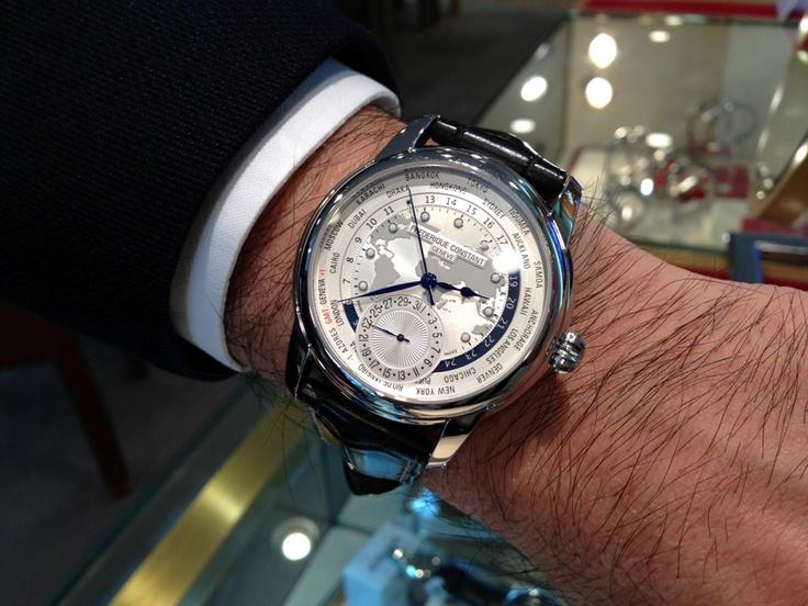 【フレデリック・コンスタント - クラシック マニュファクチュール ワールドタイマー】 ★H・S様 ★コメント/いま、一番お気に入りの時計です!