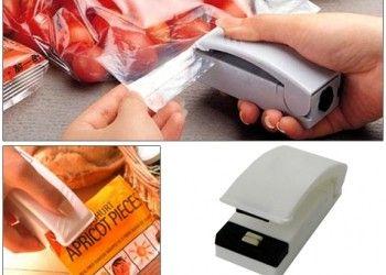 Poşet Kapatıcı Super Sealer (2 Adet) www.hediyeulkesi.com