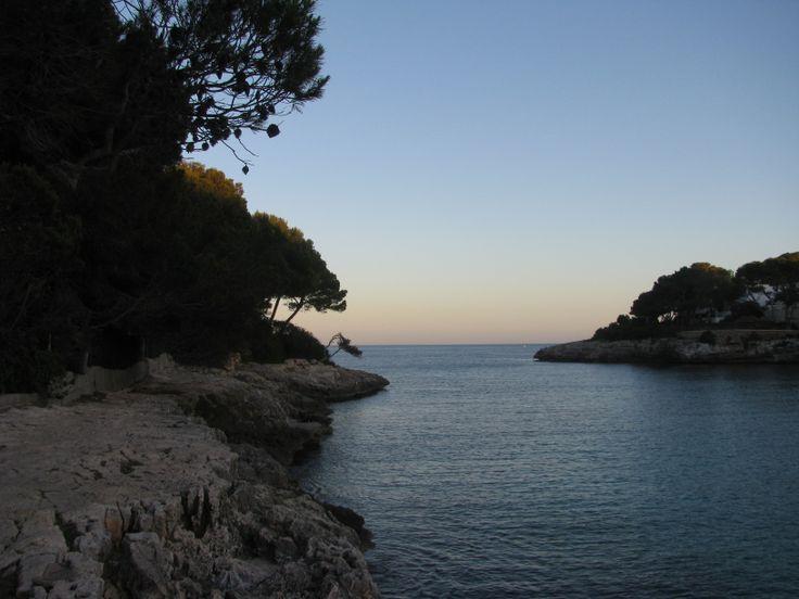 Eén van de mooie baaien van Cala d'Or