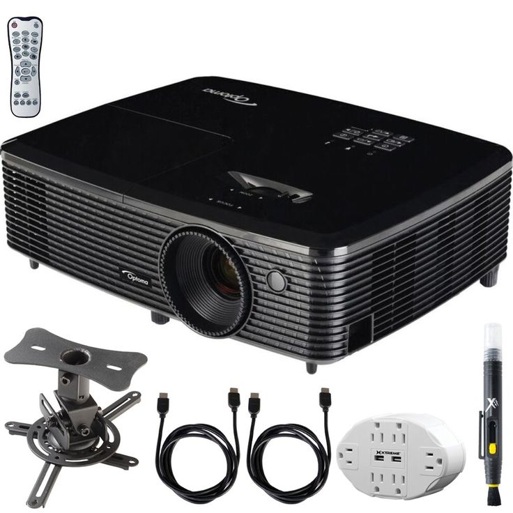 Optoma (HD142X) Full HD 1080p 3D DLP Home Theater Projector w/ Mount Bundle Includes, 6 Outlet Wall Tap w/ 2 USB Port + Low Profile Projector Mount + 2x HDMI Cable + LCD/Lens Cleaning Pen. LG Authorized Dealer Includes 1 Year USA LG Warranty. Optoma HD142X Full HD 1080p 3D DLP Home Theater Projector. Bright and colorful 3000 lumens combined with a 23000:1 Contrast Ratio. In the BOX: Lens Cap, AC Power Cord, Remote Control, Batteries for Remote, Multilingual CD-ROM, User Manual, Quick…