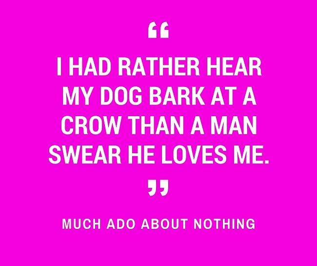 the battle of wit and words between benedick and beatrice in much ado about nothing 106 quotes from much ado about nothing: 'sigh no more, ladies, sigh no more,men were deceivers ever,-one foot in sea and one on shore,to one thing con.