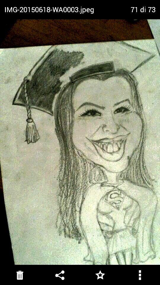friend's graduation - super girl