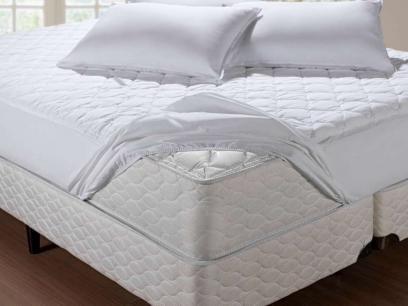 Protetor de Colchão Solteiro 90x190cm - Artex Sleep Care com as melhores condições você encontra no Magazine Vlck. Confira!