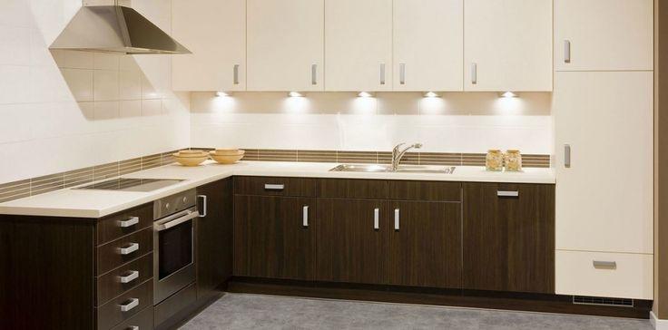 De bruine keuken - combinatie met neutrale kleuren. Ontdek hier alle ideeën voor een bruine keuken!