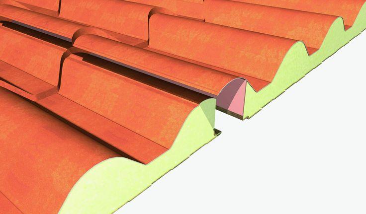 Szendvicspanel, Hőszigetelő falpanel, Hőszigetelő tetőpanel