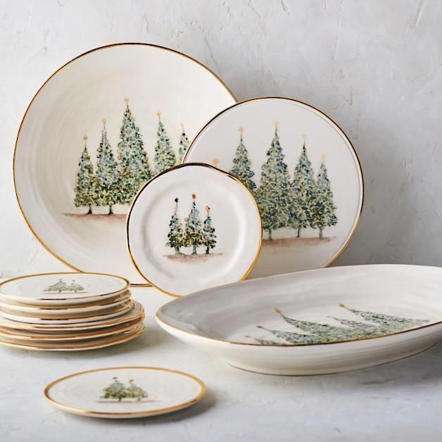 Natale Gold Salad Plates, Set of Four #honeymoons honeymoons in