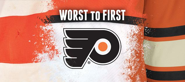 WORST TO FIRST JERSEYS: PHILADELPHIA FLYERS