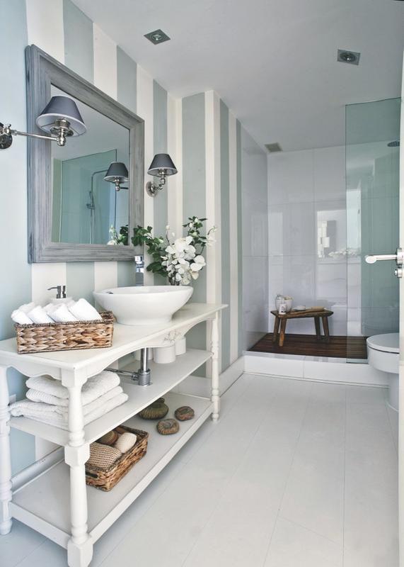M s de 25 ideas incre bles sobre papel pintado a rayas en - Dormitorios pintados a rayas ...