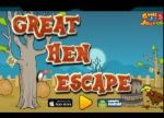 Great Hen Escape walkthrough-games2jolly:There are some poachers hanging around in a village nearby. They just hunted down a hen and locked it up in a cage. Now they are gone for hunting and therefore its the apt time for you to rescue the poor bird. For finding the key to unlock the hen cage you need to solve some puzzles by using the clues spread around.Trouvez le levier afin de faire s'échapper le dindon.