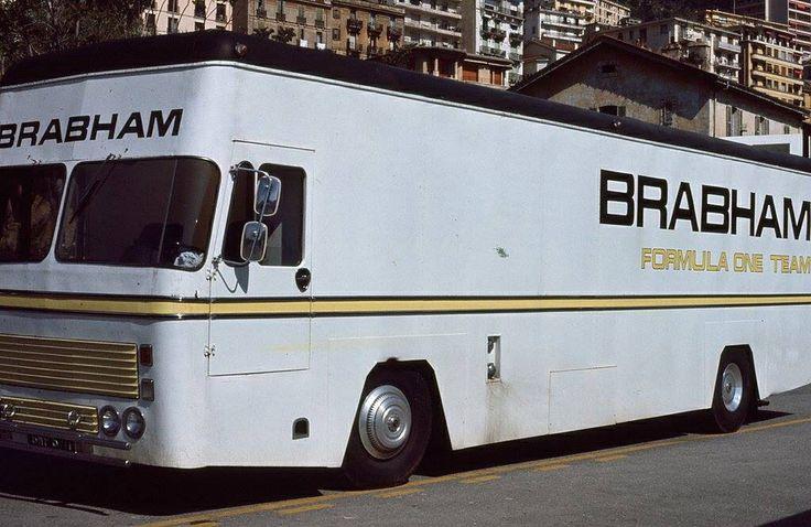 Brabham F1 racing team car transporter