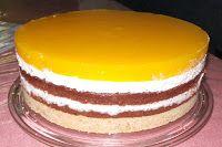 Zutaten:  Für den Keksboden (auf dem Foto ist es die doppelte Menge):  200g Butterkekse  100g Butter   Für die Schokoböden (26cm Durchmesser...