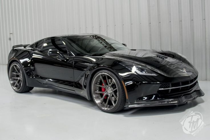 Unique Widebody Black C7 Corvette Stingray