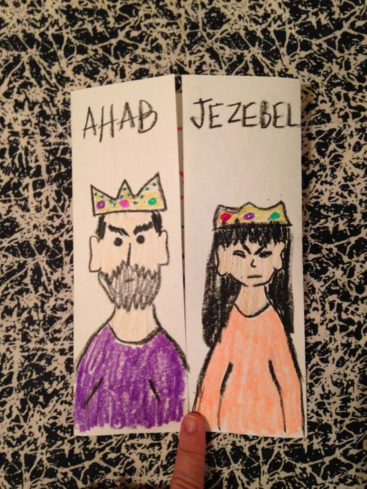 1 Kings 16. Ahab and Jezebel. Ahab was the most wicked king in Israel and married a woman who had no respect for God or His ways. On the blog tonight, God was not pleased with these two!  Easy, inexpensive, and unique children's Bible lessons. Free to all! Take a look and share!