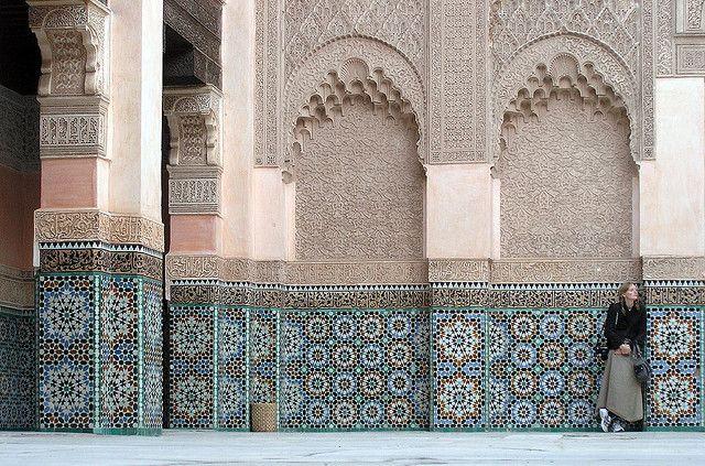 世界遺産 マラケシュ旧市街 マラケシュ旧市街の絶景写真画像 モロッコ …