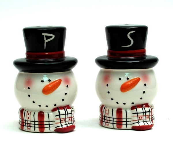 christmas salt and pepper shakers on sale