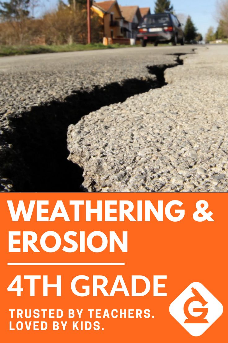 Weathering and Erosion for 4th grade! Check out this ...