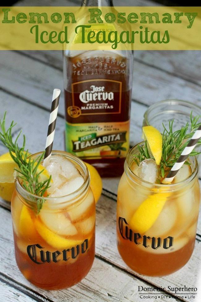 Lemon Rosemary Jose Cuervo Iced Teagarita™