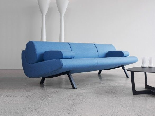 Erik Jorgensen EJ 180 3 In Duplo Low Three Seater Sofa