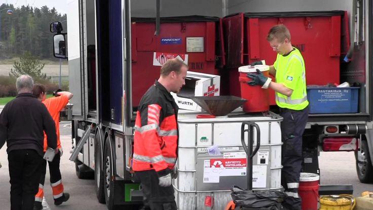 Vaaralliset jätteet opetusvideo 4 min