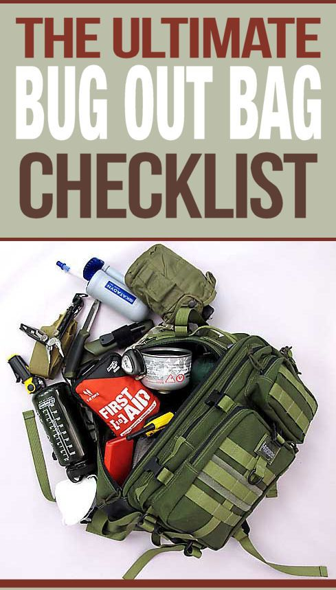 Bug Out Bag Checklist with video tutorial