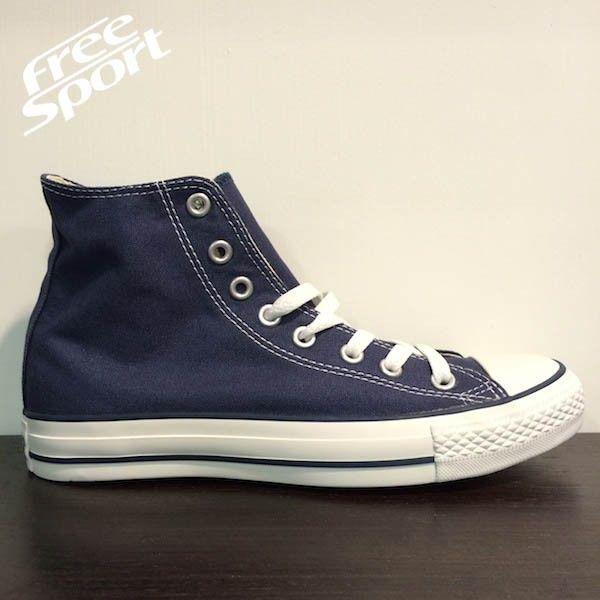 Converse All Star Alta Blu Scarpe http://freesportstyle.com/converse/415-converse-all-star-chuck-taylor-blu-alta-m9622.html