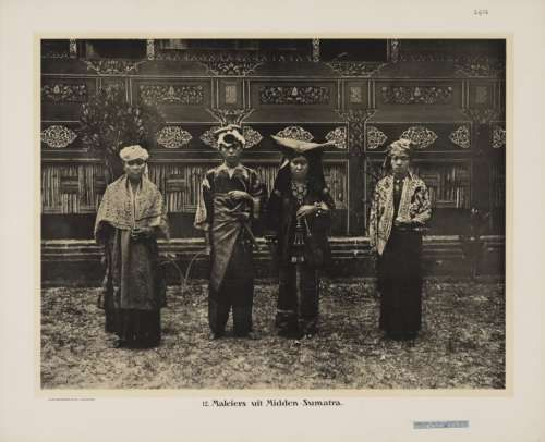 Indonesia, Sumatra ~Minangkabau people, West Sumatra 1910