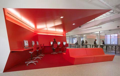 Color Multi Use Space For All Interior Design School Interior Design Institute Commercial Interior Design