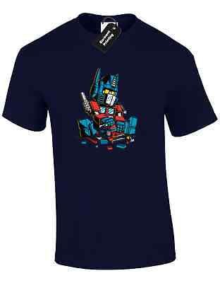 Lego optimus mens t #shirt funny retro #transformer cool prime autobot #deceptico,  View more on the LINK: 	http://www.zeppy.io/product/gb/2/282249168041/