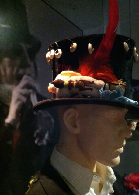 Mick Jagger's top hat from Voodoo Lounge on exhibit at the ...