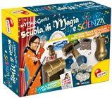 Il Mago gentile ti accompagna alla scoperta della scienza attraverso tantissimi trucchi e giochi di prestigio strabilianti! Nella confezione tanti elementi come scrigni magici, ampolle, misurini graduati, bacchette magiche, carte, monete che scompaiono e tanto altro ancora! http://liscianigroup.com/Catalogo/Giochi/prodotto/SCUOLA-DI-MAGIA-E-SCIENZA/8070#.U1ExJfl_tqU