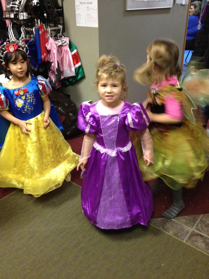 Halloween princesses at Deerfoot North, 2014