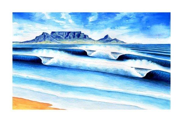 Cape Town illustration.