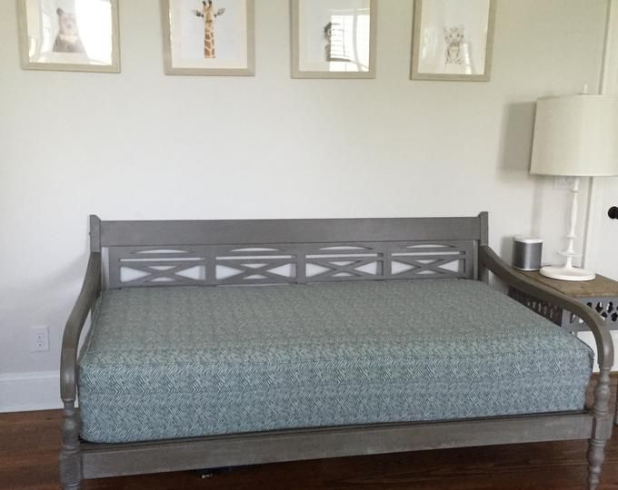 Fitted Daybed Cover With Cording Piping In Twin Twin Xl Etsy