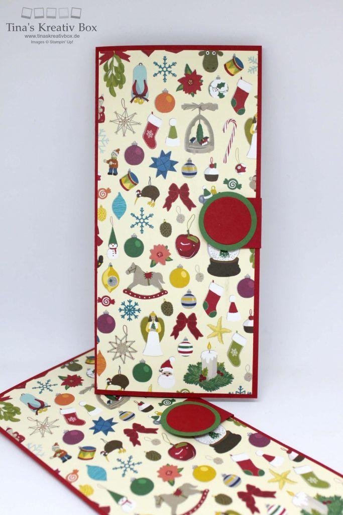 Weihnachts Wunschzettel - mit Produkten von Stampin' Up!
