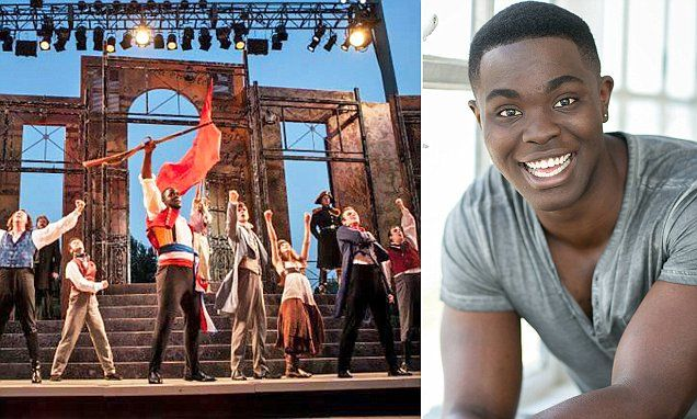 Kyle Jean-Baptiste who played Les Miserables's Jean Valjean on Broadway dies | Daily Mail Online