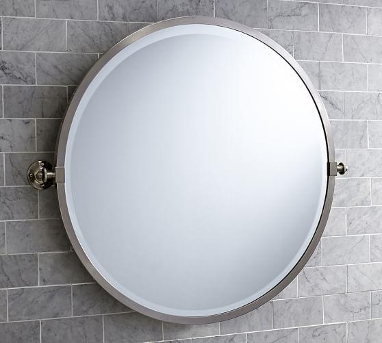 Pottery Barn Pivot Mirror: Kensington Pivot Round Mirror